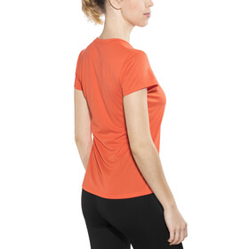 The North Face Reaxion Ampere Crew Shirt Women Nasturtium Orange